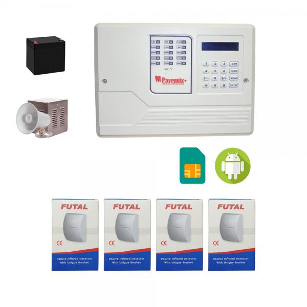 دزدگیر اماکن سیم کارتی payronix