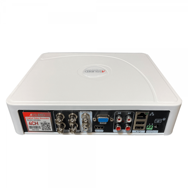 دستگاه ضبط کننده دوربین مداربسته 4 کانال 5 مگاپیکسل AHD