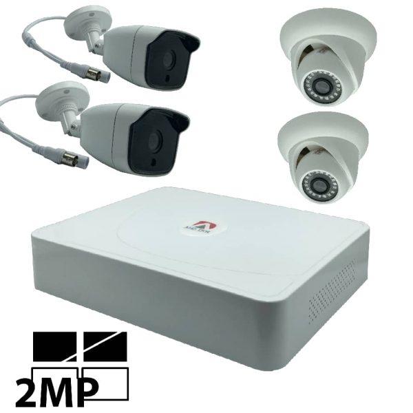 بهترین محیط نصب این پک دوربین مداربسته در محیط های سرپوشیده و باز میباشد. یکی از ویژگی های خوب این محصول دید در شب و ضد اب بودن این محصول میباشد.